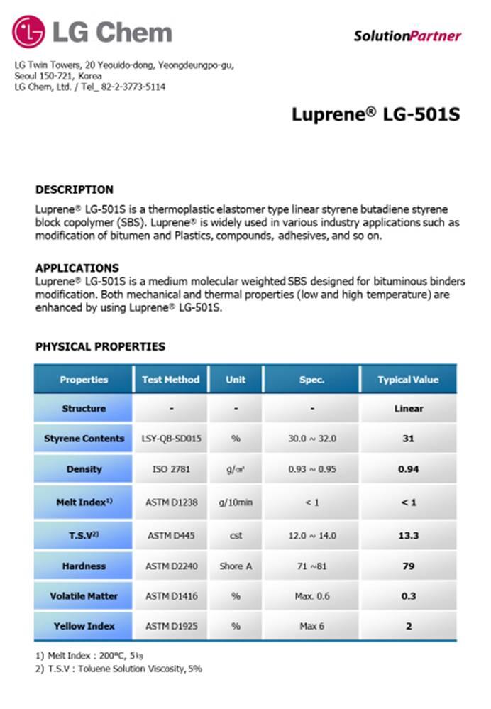 Luprene LG-501S